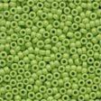 Crayon Yellow Green Beads 02066