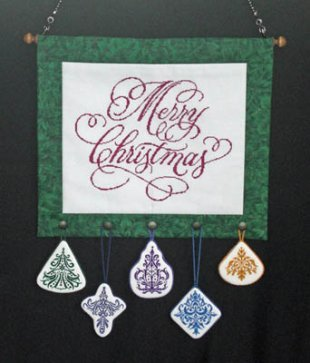 Quilted Christmas and Ornaments