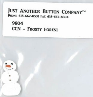 Frosty Forest Button Pack