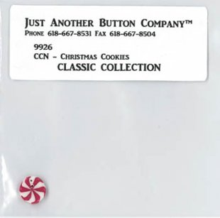 Christmas Cookies Button Pack