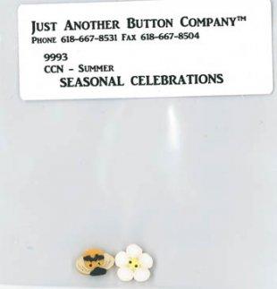 Seasonal Summer Button Pack