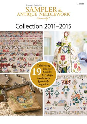 Sampler and Antique Quarterly 2011-2015 DVD