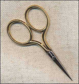 Bohin Gilt Handled Scissors