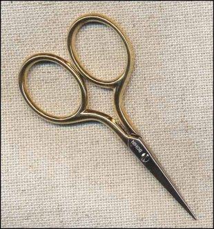 Bohin Gilt Handled Scissors