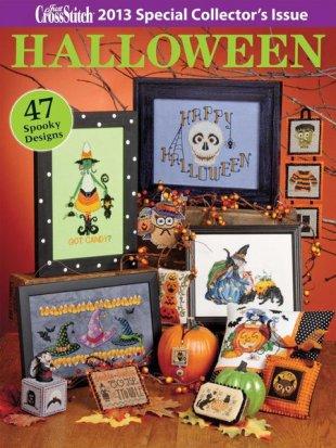 Just Cross Stitch 2013 Halloween Issue