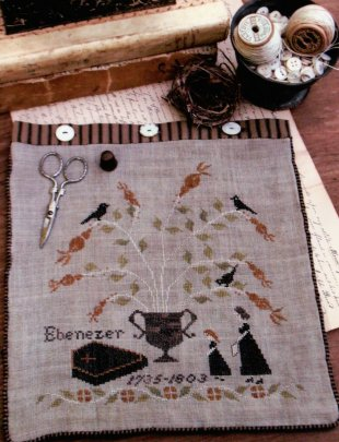 Mourning Tree Sewing Bag