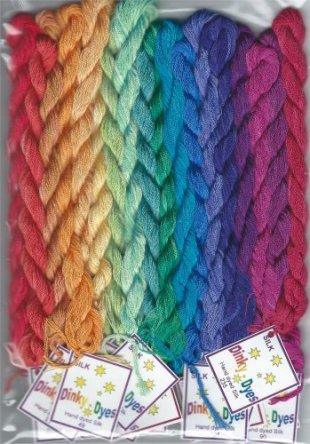 Twisted Rainbow Fiber Pack