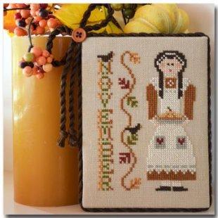 November Calendar Girl