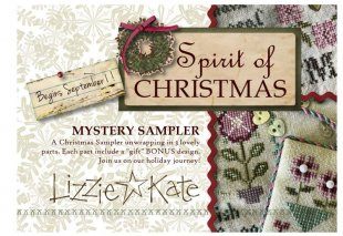 Spirit of Christmas Mystery Part One 32 Ct Linen Kit