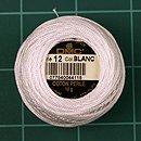 DMC White Perle Cotton #12