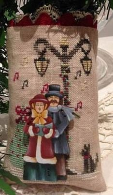 Mani di Donna Christmas Carol Ornament