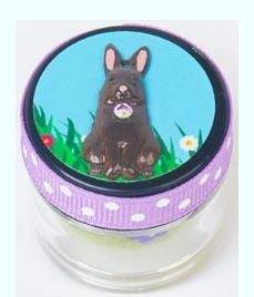 Just Nan Chocolate Bunny Pinball Jar