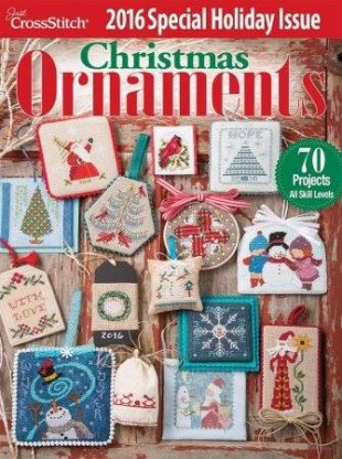 Just Cross Stitch Magazine Christmas Ornament Magazine 2016