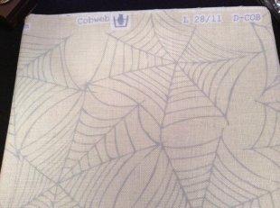Halloween Trifles Cobweb Fabric Cut