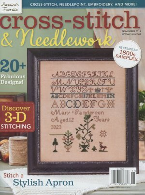 Cross Stitch and Needlework November 2014