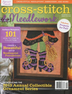 Cross Stitch and Needlework September 2013