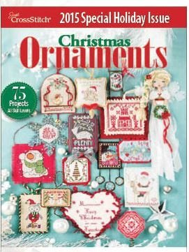 Just Cross Stitch Christmas Ornament Holiday Issue 2015
