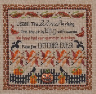 October Eves and Embellishments