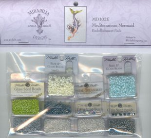 Mediterranean Mermaid Embellishment Pack
