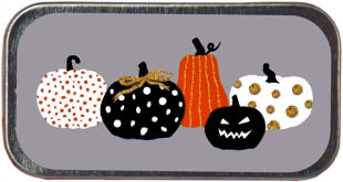 Pumpkin Party Mini Slide