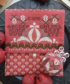 Pomegranate Pocket & Pin