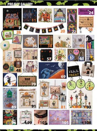 Just Cross Stitch Halloween 2017 Magazine