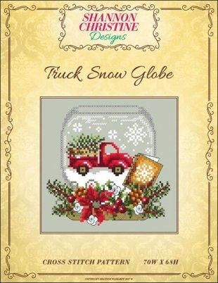 Truck Snow Globe