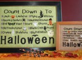 Countdown to Halloween by Winter Needle Bling Designs
