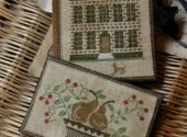 Boxwood Manor Sewing Book and Thread Keep