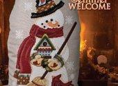 Snowman Sentinel Welcome