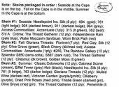Cape Cod Vignettes Embellishment Pack