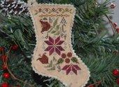 Sampler Stocking Ornament