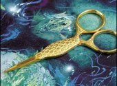 Gold Fish Embroidery Scissors
