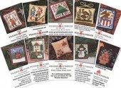 Prairie Schooler Min Pack B small cross stitch patterns