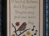 Bird Of Autumn