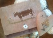 Brown Cow Sampler Bag and Pinkeep
