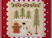 Gingerbread Boy and Snowman