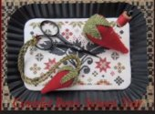 Coverlet Berry Scissor Tray