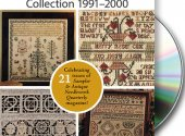 Sampler & Antique Needlework Quarterlly 1991-2000 DVD