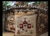 Farmhouse Christmas Automatic 32 Ct Raw Linen Kit
