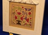 Garden of Love small cross stitch pattern