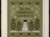 In the Meadow by Country Cottage Needleworks - snowman cross stitch patterns