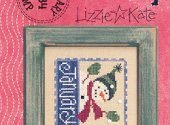 Lizzie Kate January Flip It Cross Stitch