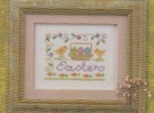 Lizzie Kate A Little Easter Cross Stitch
