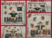 A Year with The Scarecrows September and October