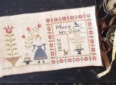 Mary's Work Sampler Bag