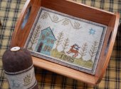 Piney Woods Tray and Pin Keep