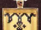 Bees Knees Stitchery Alphabet Necklace - T