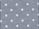 Zweigart Petit Point Blue White Dot Linen 32 Ct