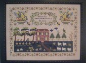 Sampler Revisited Elizabeth Young 1829